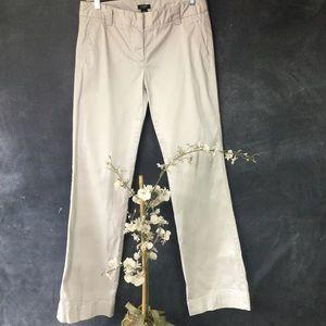 J. CREW | City Fit Classic Trouser in Khaki
